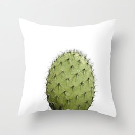 Cactus, Green cactus Throw Pillow