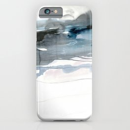 dissolving blues 2 iPhone Case