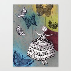 House of Butterflies Canvas Print
