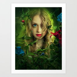 Splintered Art Print
