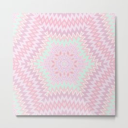 Ethnic geometric ornament 6 Metal Print