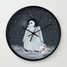 my little rainbow Wall Clock
