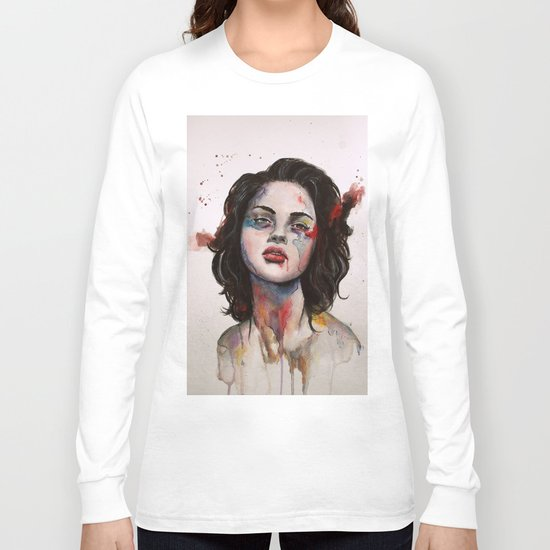 Face Mapping Long Sleeve T-shirt