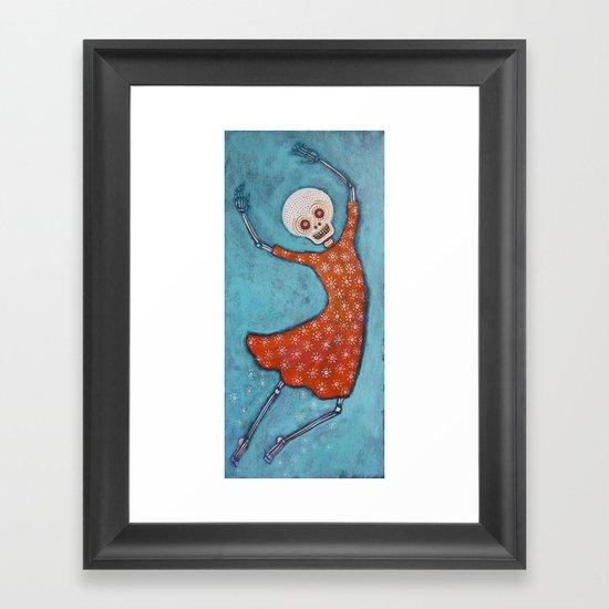 Wheeee! Framed Art Print