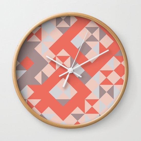 TangerineTango Wall Clock