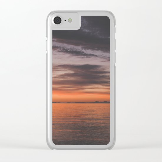 Vancouver Island Clear iPhone Case