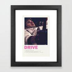 Drive- Hammer Framed Art Print