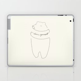 Love Yourself Bear Laptop & iPad Skin