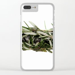 Rosemary Clear iPhone Case