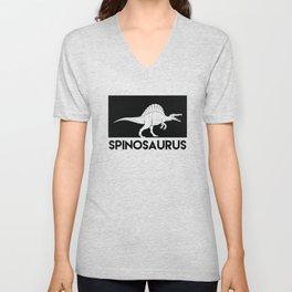 Spinosaurus Dinosaur Unisex V-Neck
