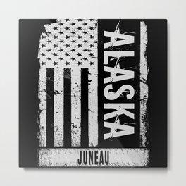Juneau Alaska Metal Print