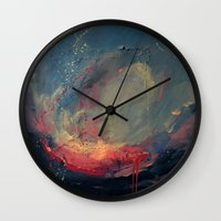 cargline Wall Clocks featuring Pink by cargline