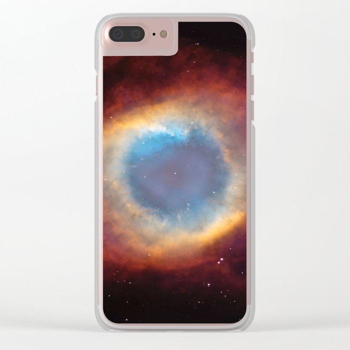 Helix Nebula Clear iPhone Case