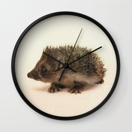 Little Ones: Hedgehog Wall Clock