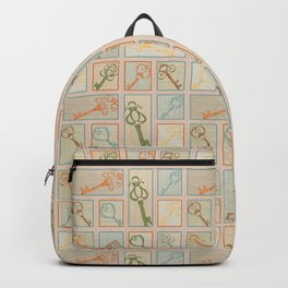 Vintage Keys Backpack