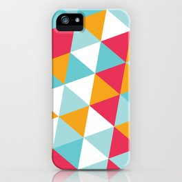Tropical Triangles iPhone Case