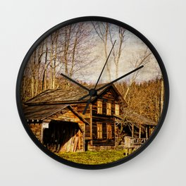 John Burroughs Woodchuck Lodge Wall Clock