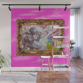 Angelo dell Gatto - Variations on the theme of the Italian Baroque Wall Mural