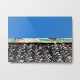 Staffin Roofline Metal Print