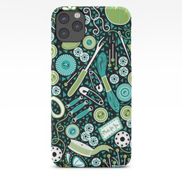 Mosaic Sewing Notions iPhone Case