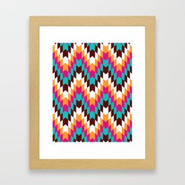 Tribal Chevron II Framed Art Print