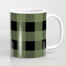 Green Buffalo Plaid Coffee Mug