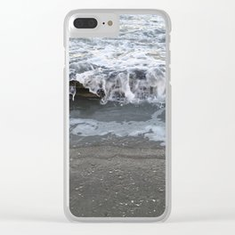 Spilling over Clear iPhone Case
