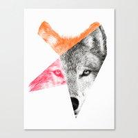eric fan Canvas Prints featuring Wild by Eric Fan & Garima Dhawan by Garima Dhawan