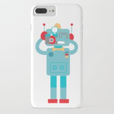 Robot loves Diana iPhone 7 Plus Slim Case