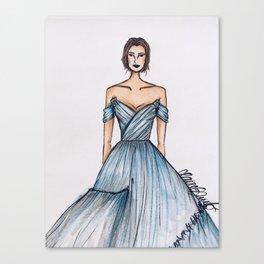 Cinderella (Zoomed) Canvas Print