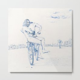 The Passenger Metal Print