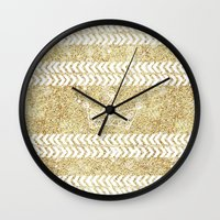 crown Wall Clocks featuring CROWN by Sara LG