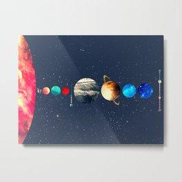 Solar System vol 2 Metal Print