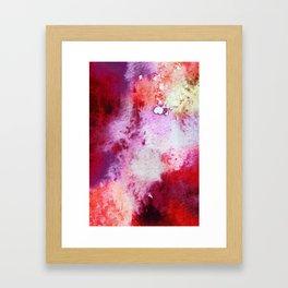 fire storm Framed Art Print