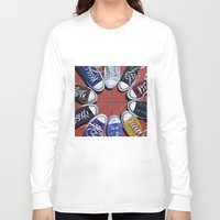 shoes Long Sleeve T-shirts featuring Shoes by Giorgio Arcuri