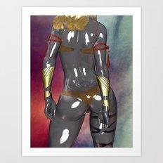 Sharp Dressed Girl Art Print