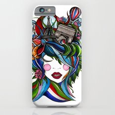 Paris girl iPhone 6 Slim Case