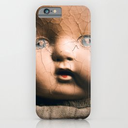 Creepy Doll iPhone Case