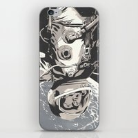 gravity iPhone & iPod Skins featuring Gravity by Señor Salme