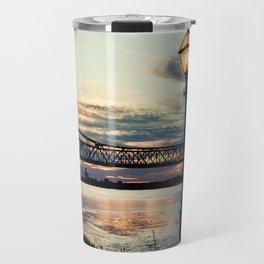 Mississippi River Bridge Natchez Travel Mug