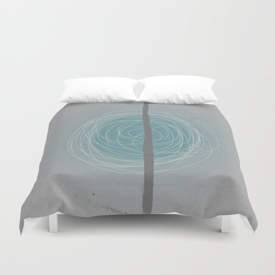 Pale blue eyes Duvet Cover