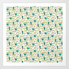 Babe The Blue Ox - LumberjackAttack Art Print