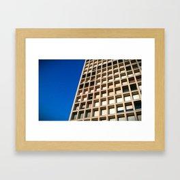 HONEYCOMB. Framed Art Print