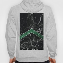 Arrows - Black Granite & Green Granite #269 Hoody