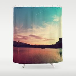 Istanbul Gradient Colors Shower Curtain
