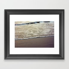 Touch the Sea Framed Art Print
