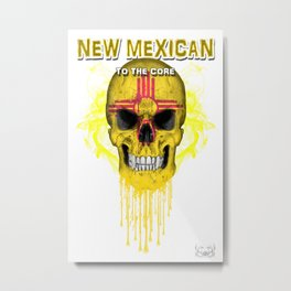 To The Core Collection: New Mexico Metal Print