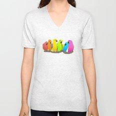 Parrot Family Unisex V-Neck
