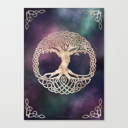 Celtic Tree of Life Canvas Print