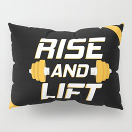 Rise and Lift Pillow Sham